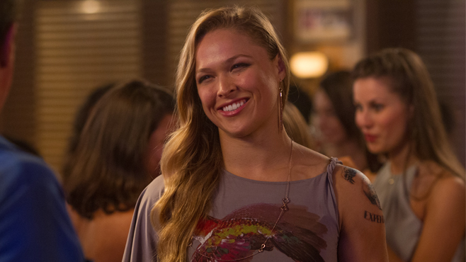 Ronda Rousey in The Expendables 3.