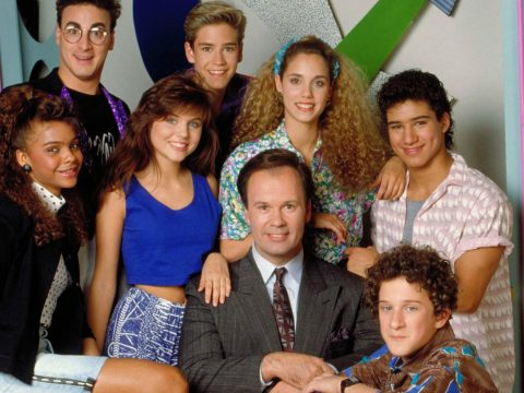 The original cast of Saved By The Bell