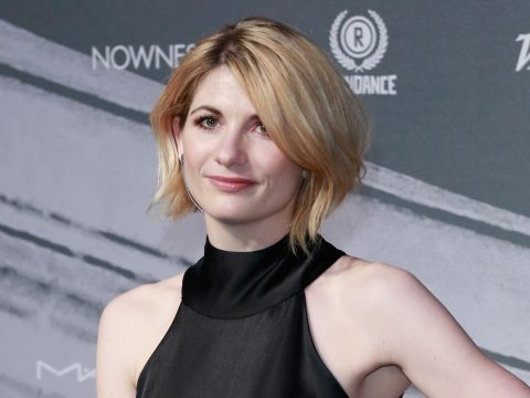 The new Doctor Who, Jodie Whittaker.