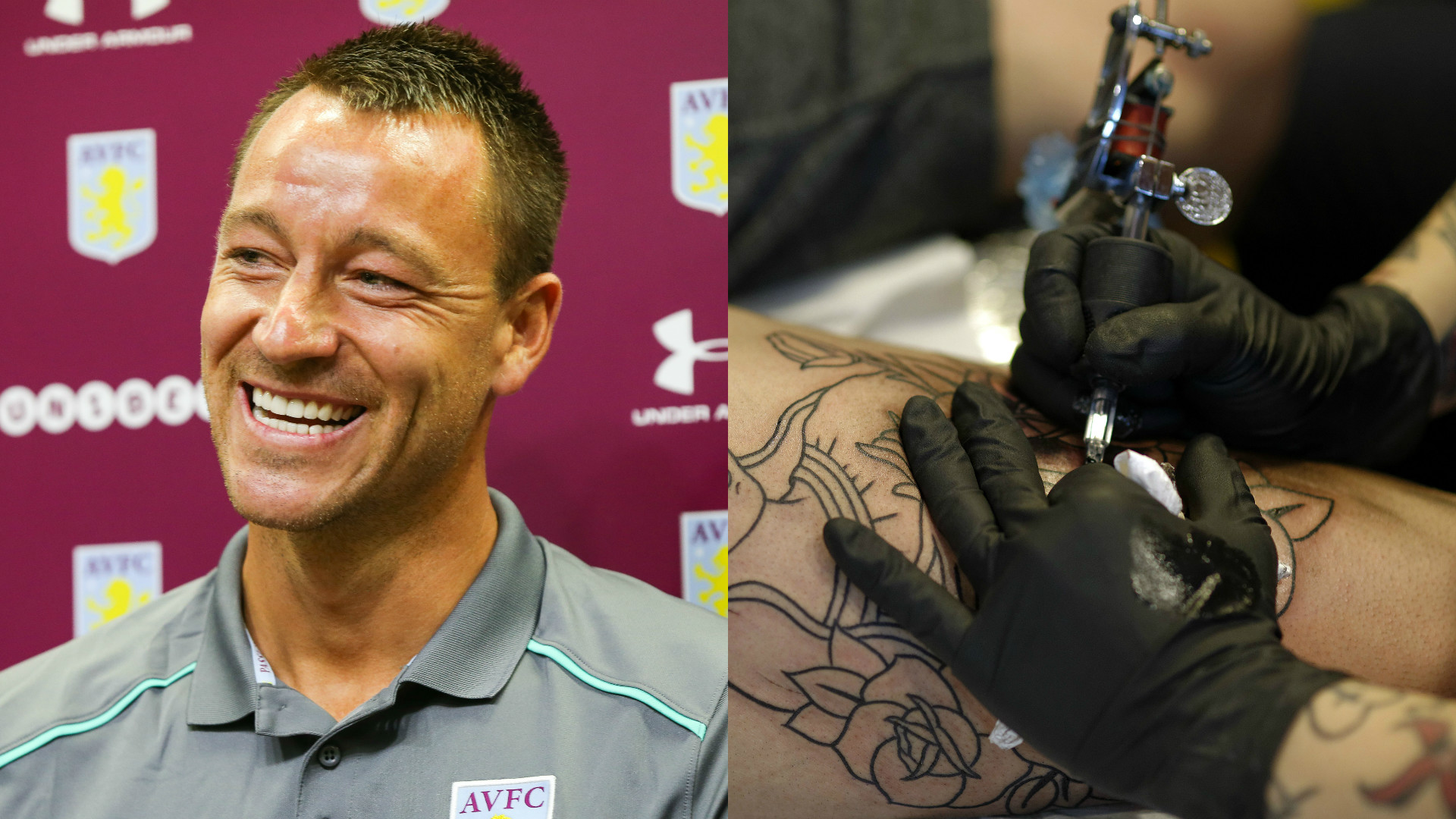 John Terry tattoos.