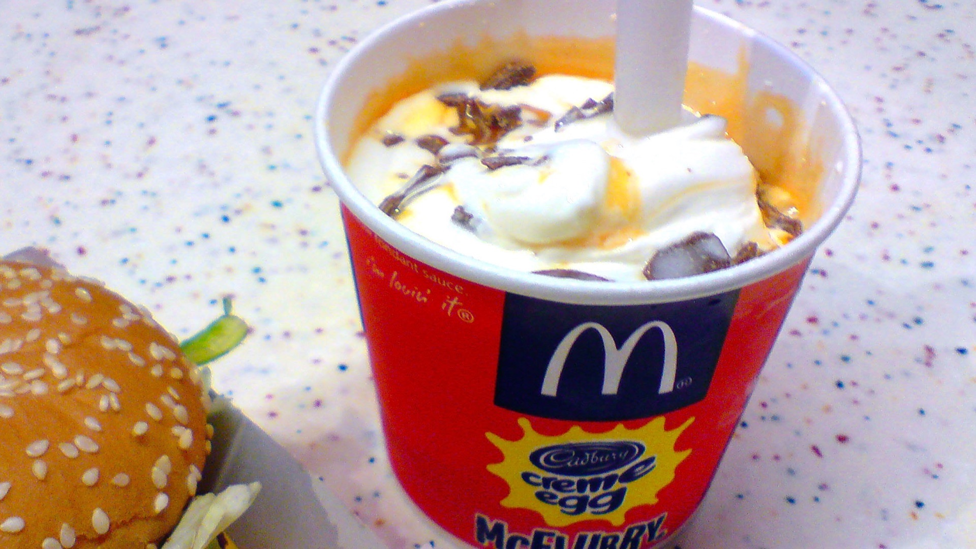 McDonald's McFlurry.