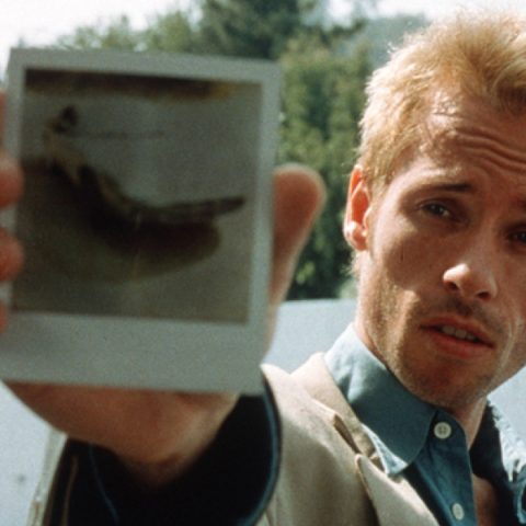 Guy Pearce in Memento