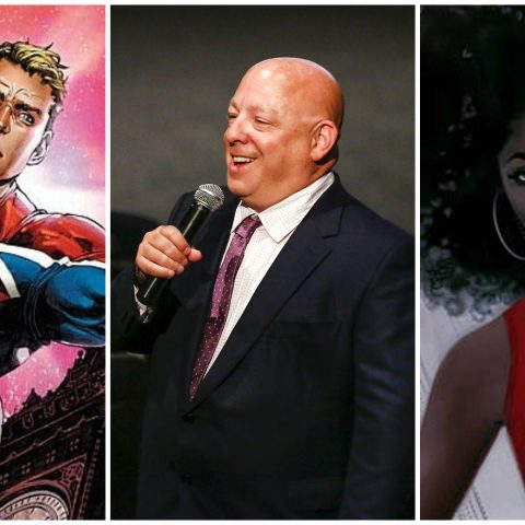 Comic book writer Brian Michael Bendis.