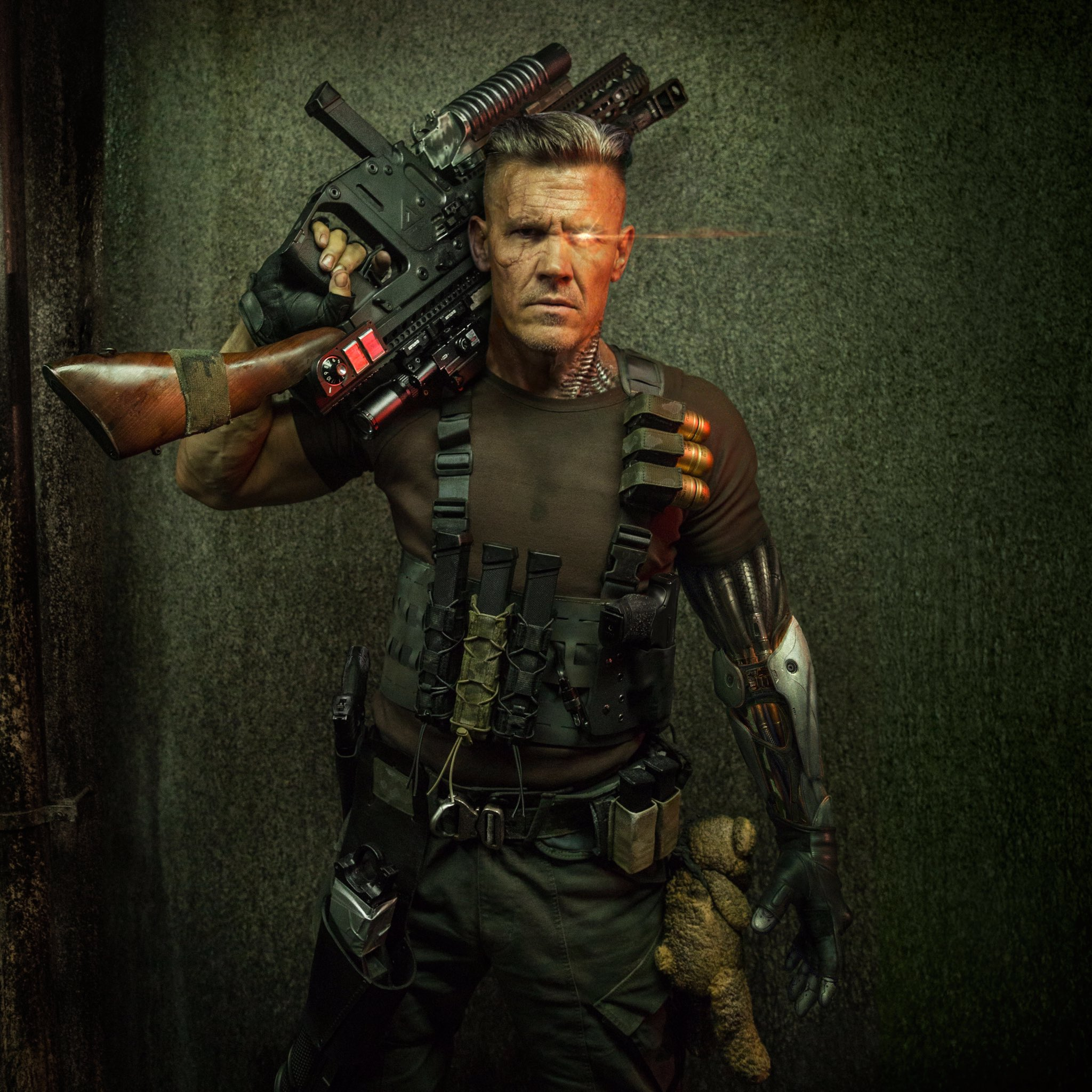 Josh Brolin as Cable