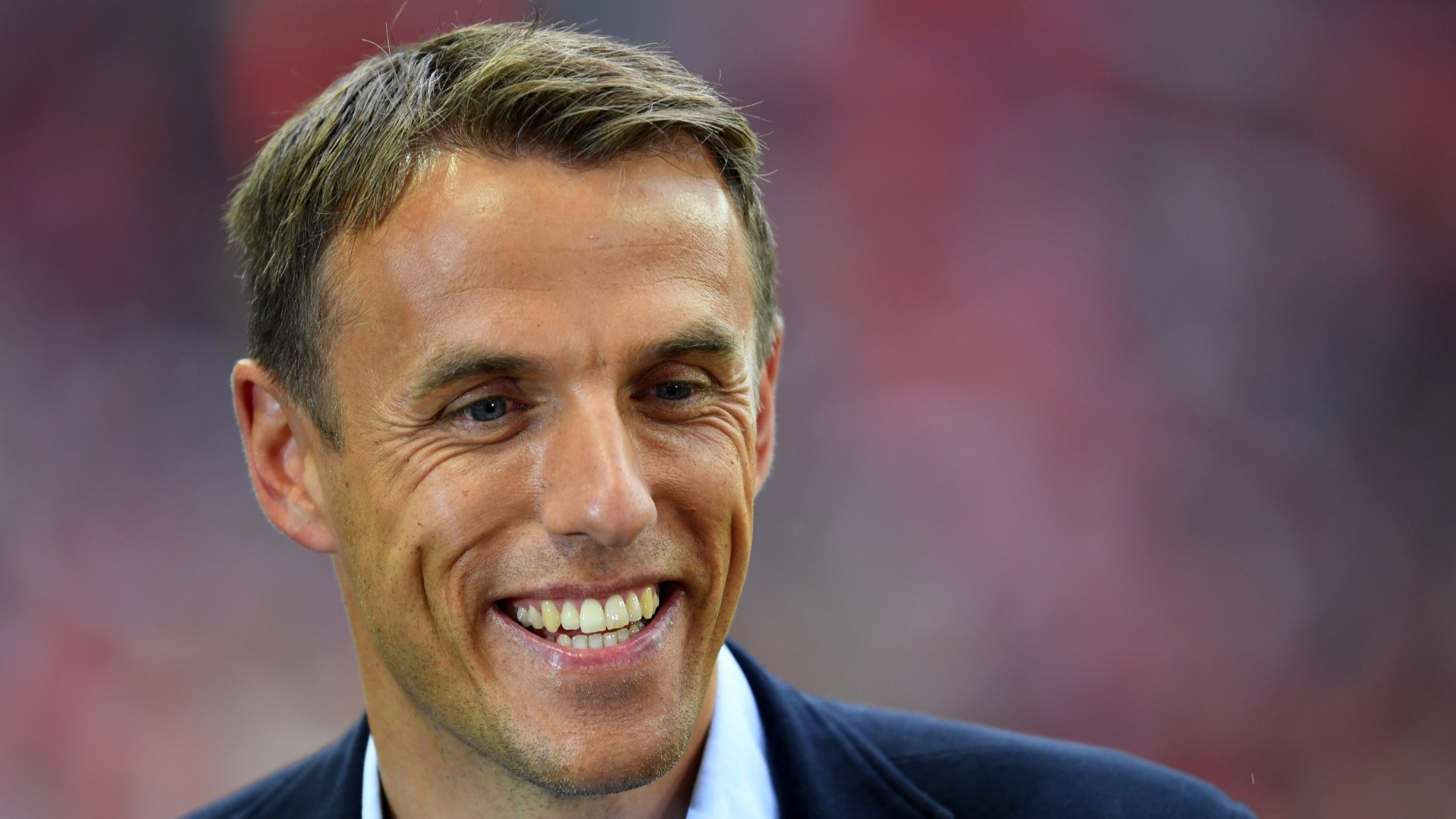Sky Sports presenter Phil Neville.