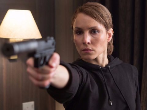 Noomi Rapace in the spy thriller Unlocked.
