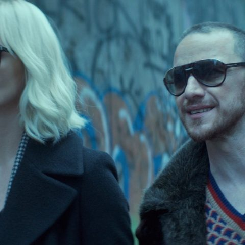 James McAvoy and Charlize Theron.