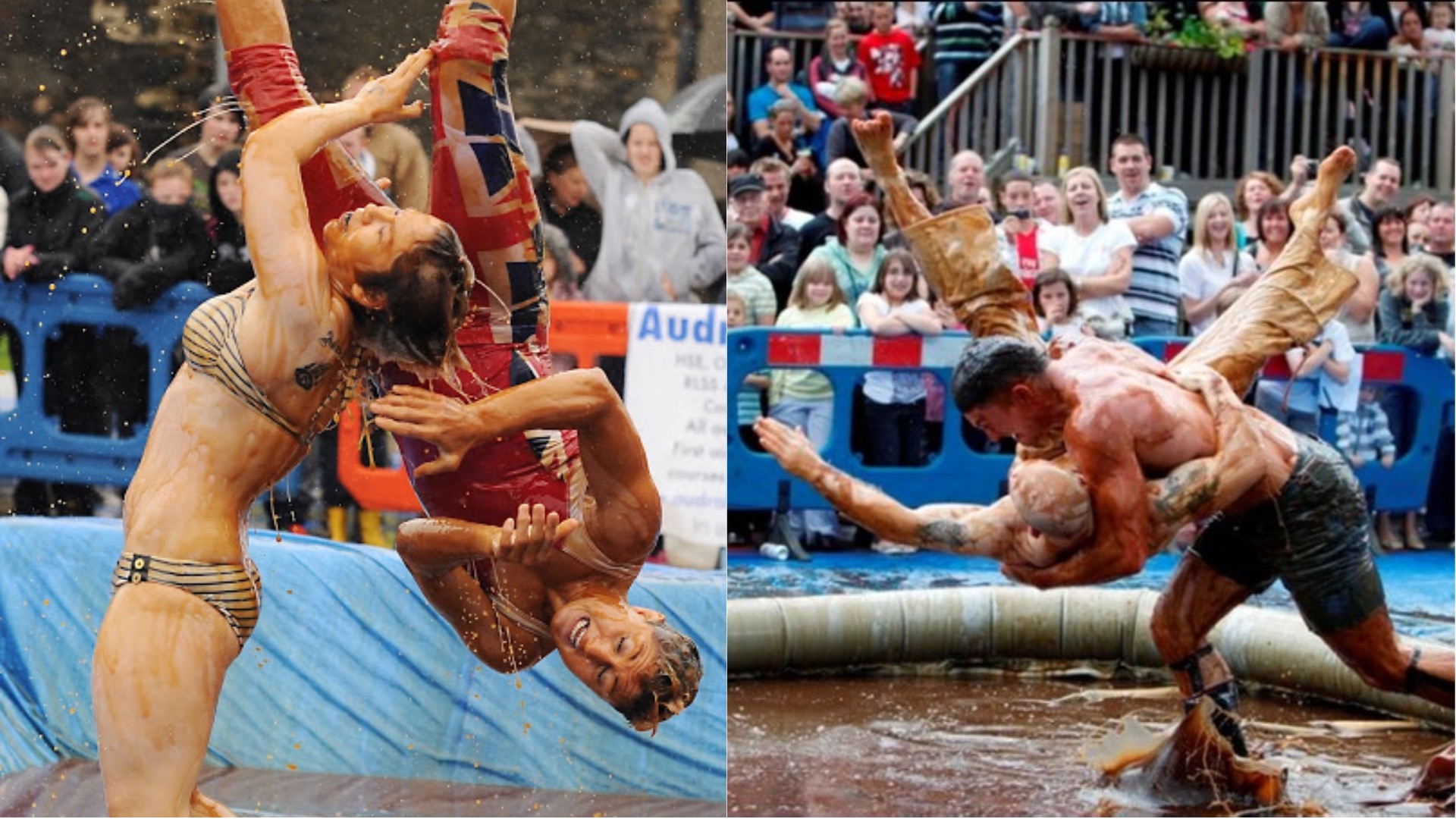 The World Gravy Wrestling Championship.