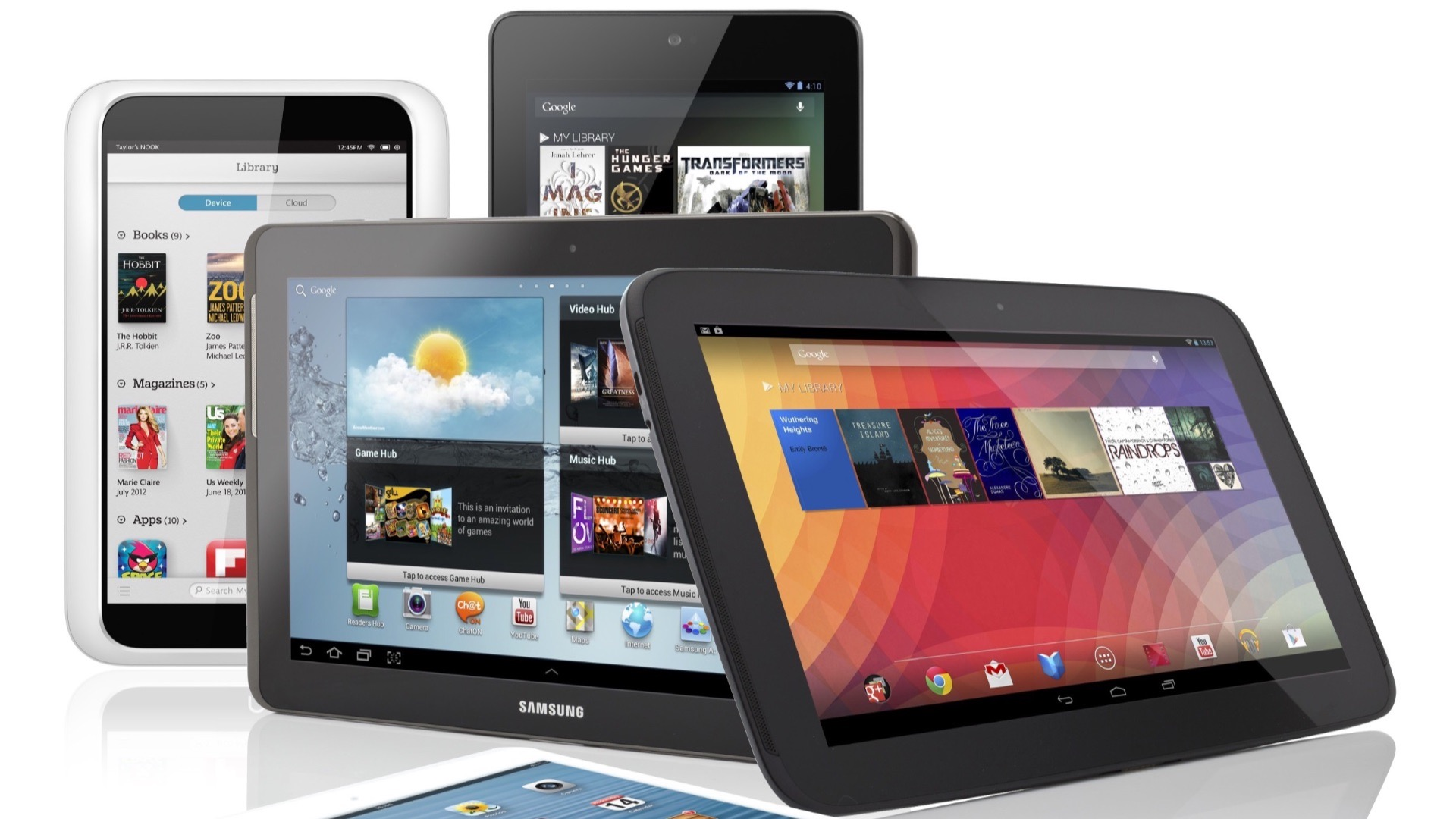 tablets online gaming