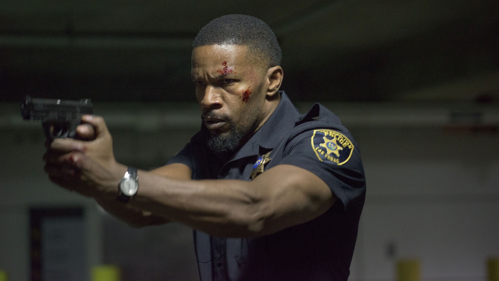 Jamie Foxx in Sleepless.