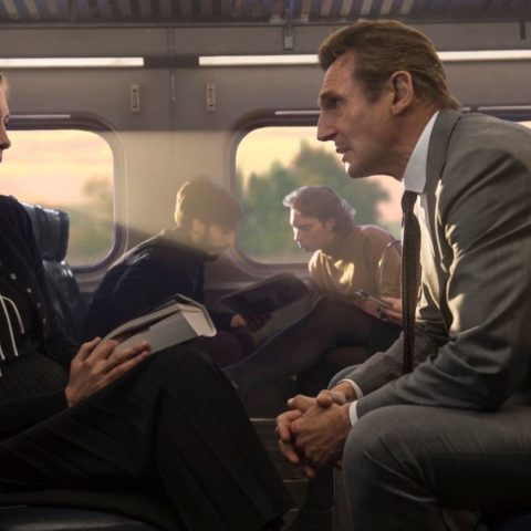 Liam Neeson in The Commuter.
