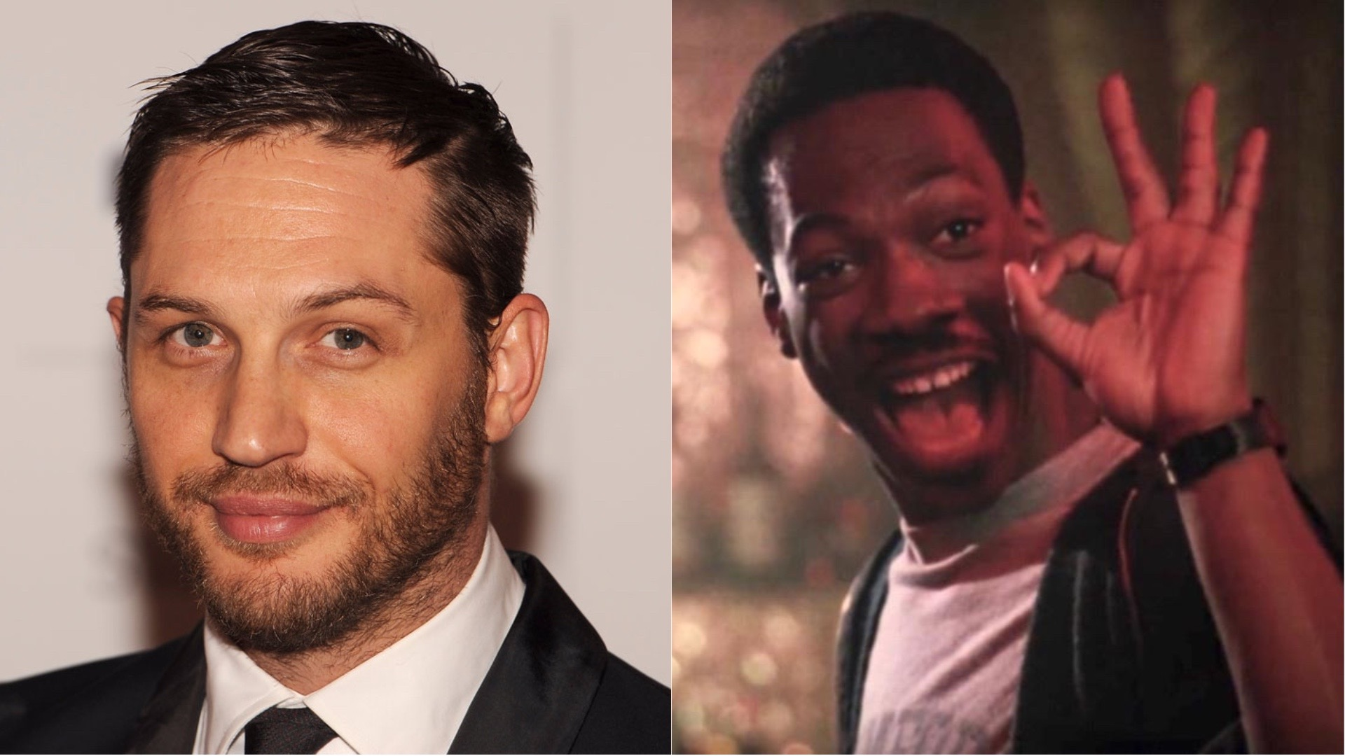 Tom Hardy in Beverly Hills Cop 4.