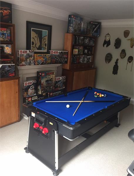 Another classic games room.