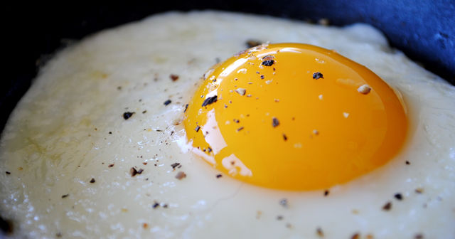 Fried egg.