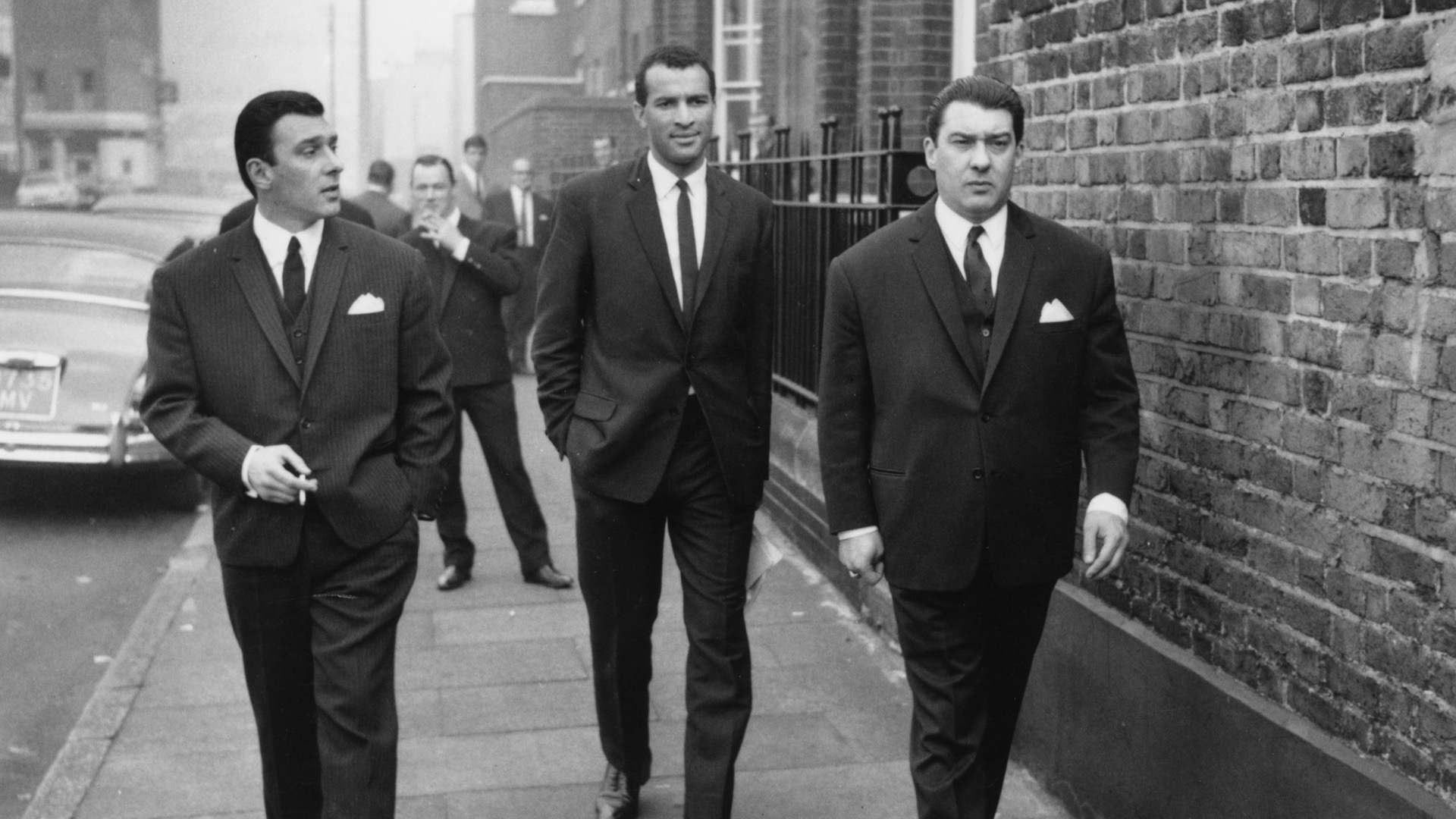 The Kray twins together.