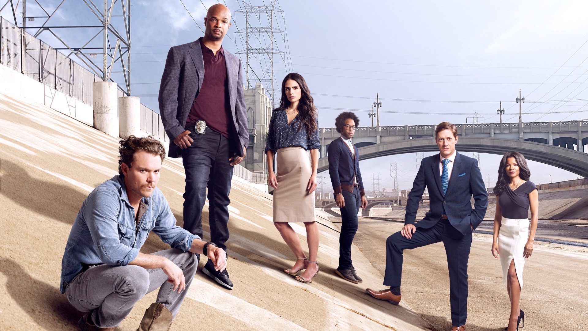 The cast of Lethal Weapon: The TV Series.