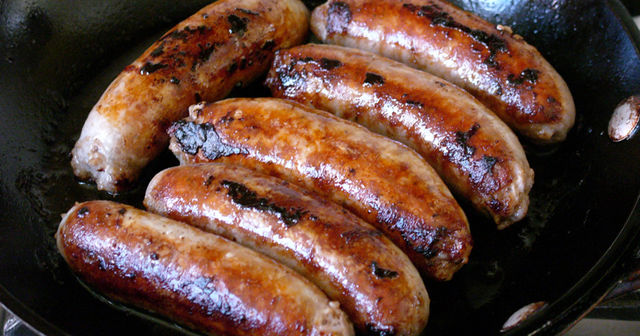 Some lovely sausages.