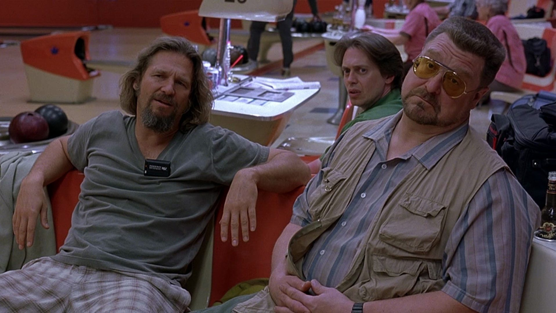 Jeff Bridges and John Goodman in The Big Lebowski.
