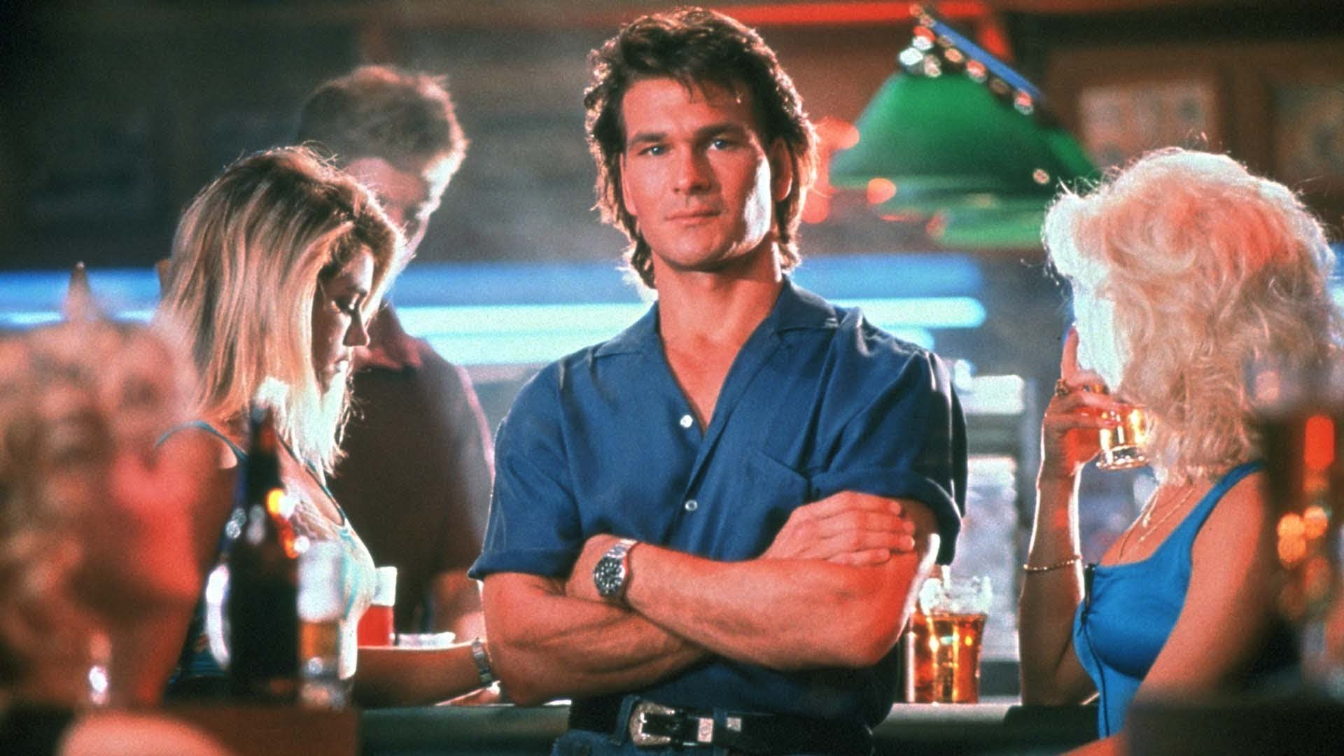 Patrick Swayze in Roadhouse.