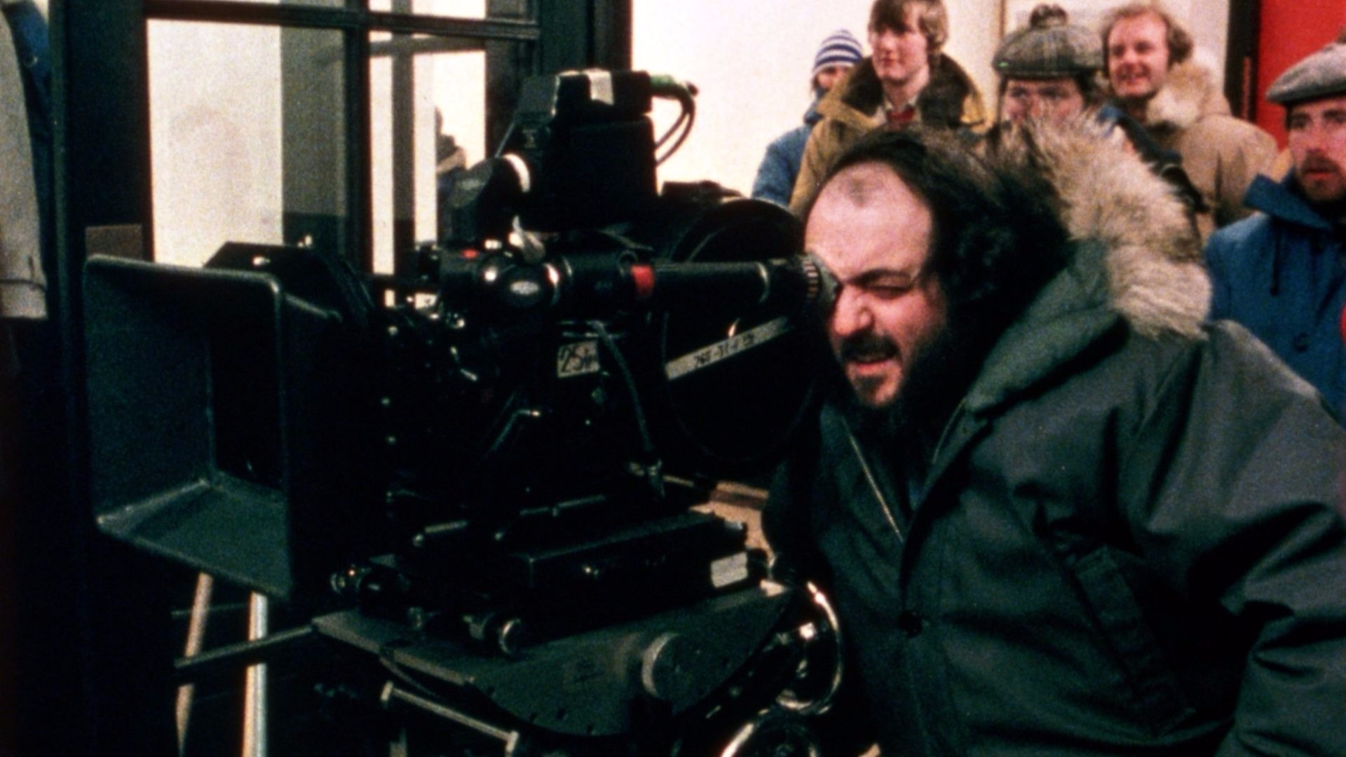 The Shining director Stanley Kubrick.