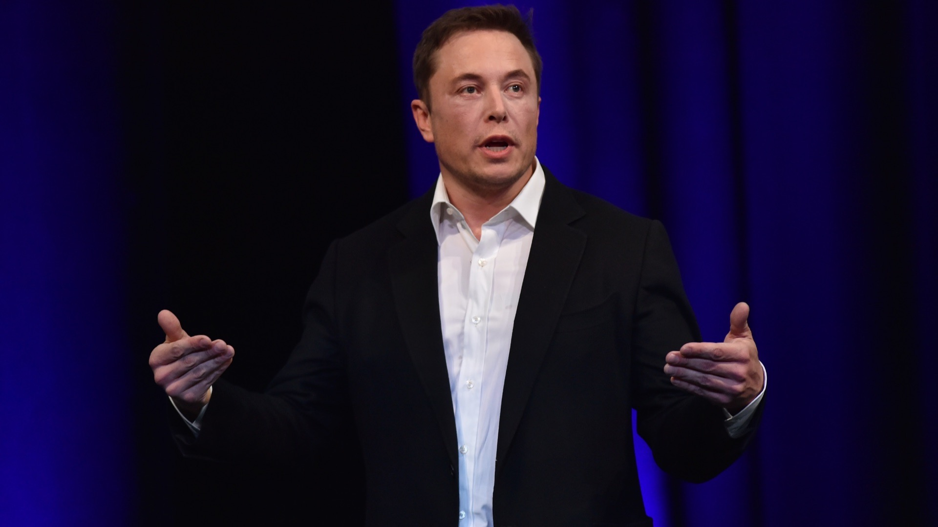The boss of SpaceX, Elon Musk.