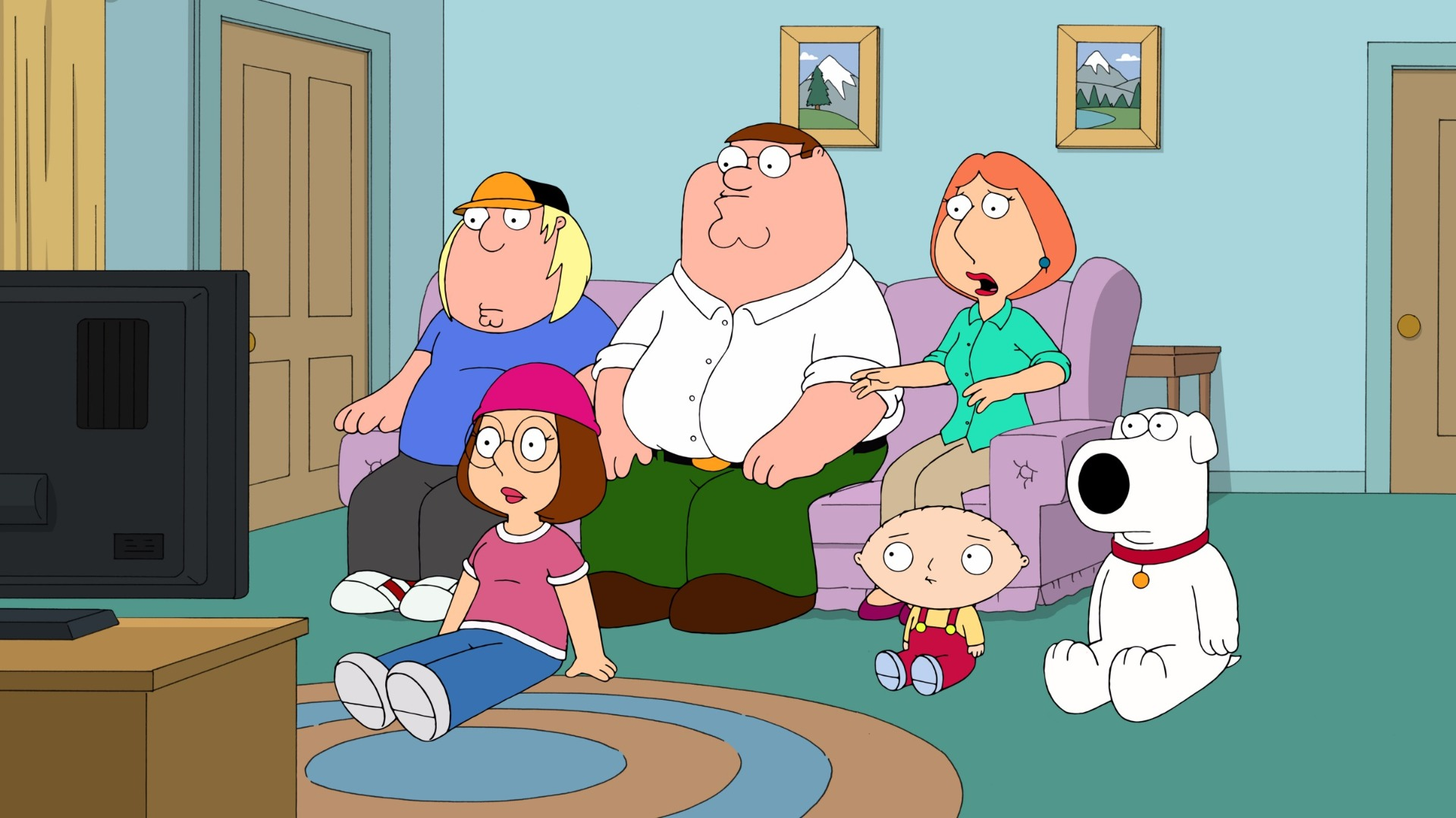 The Family Guy family.