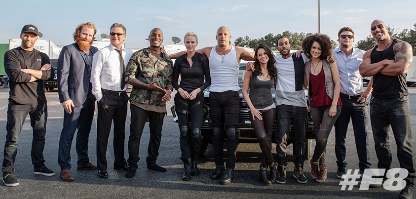 The Fast and Furious family.