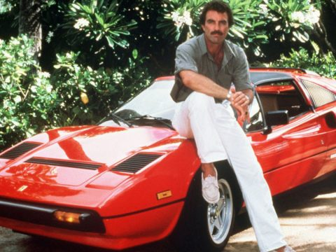 Magnum P.I. star Tom Selleck.