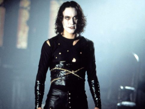 Brandon Lee as The Crow.