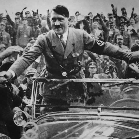 Nazi leader Adolf Hitler.