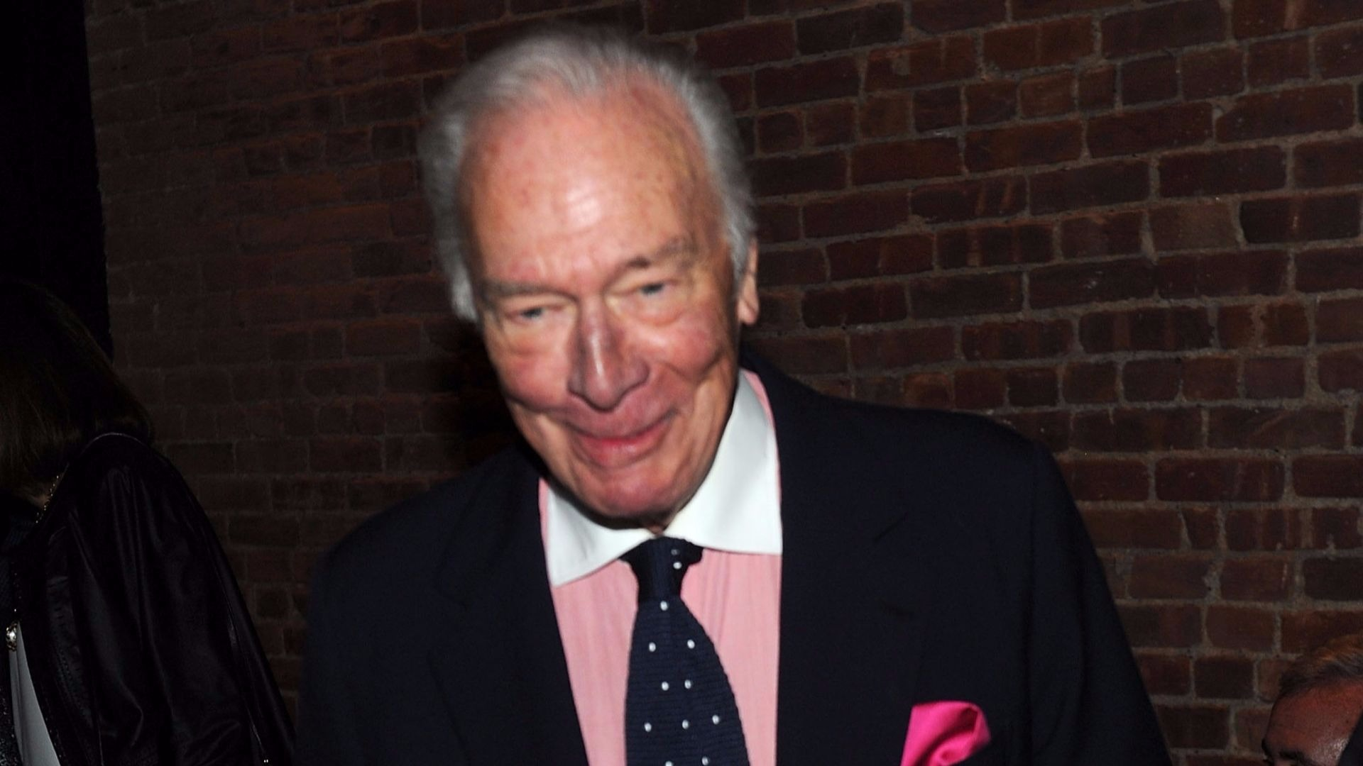 Kevin Spacey's replacement, Christopher Plummer.