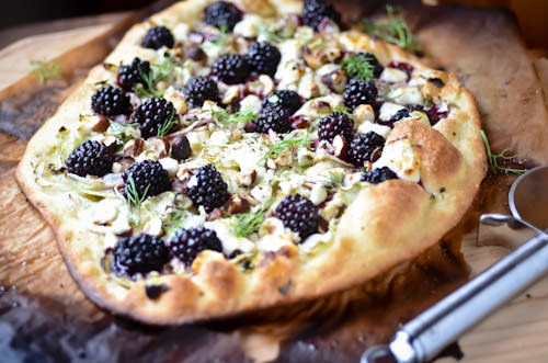 Blackberry and Fennel Pizza
