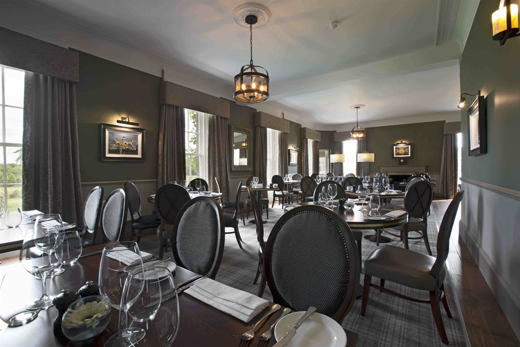 The Meldrum House dining room.