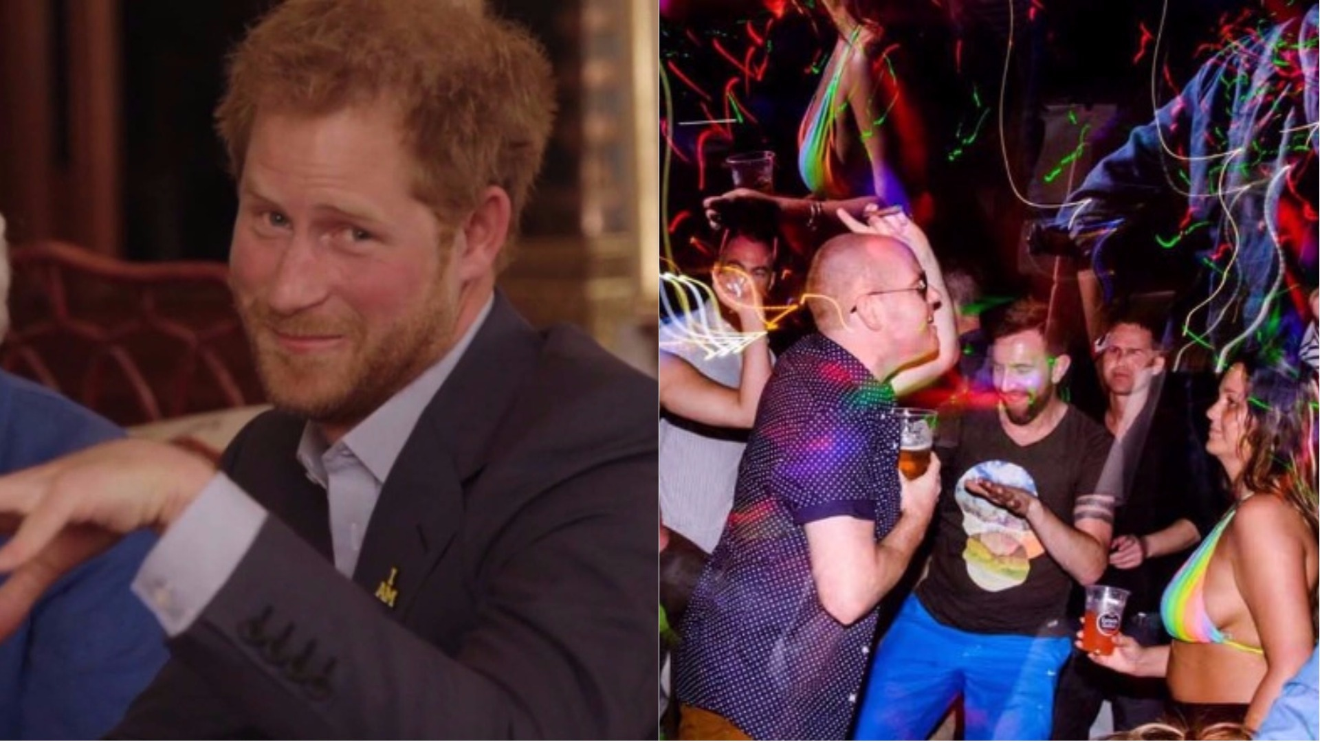 Prince Harry's stag do.