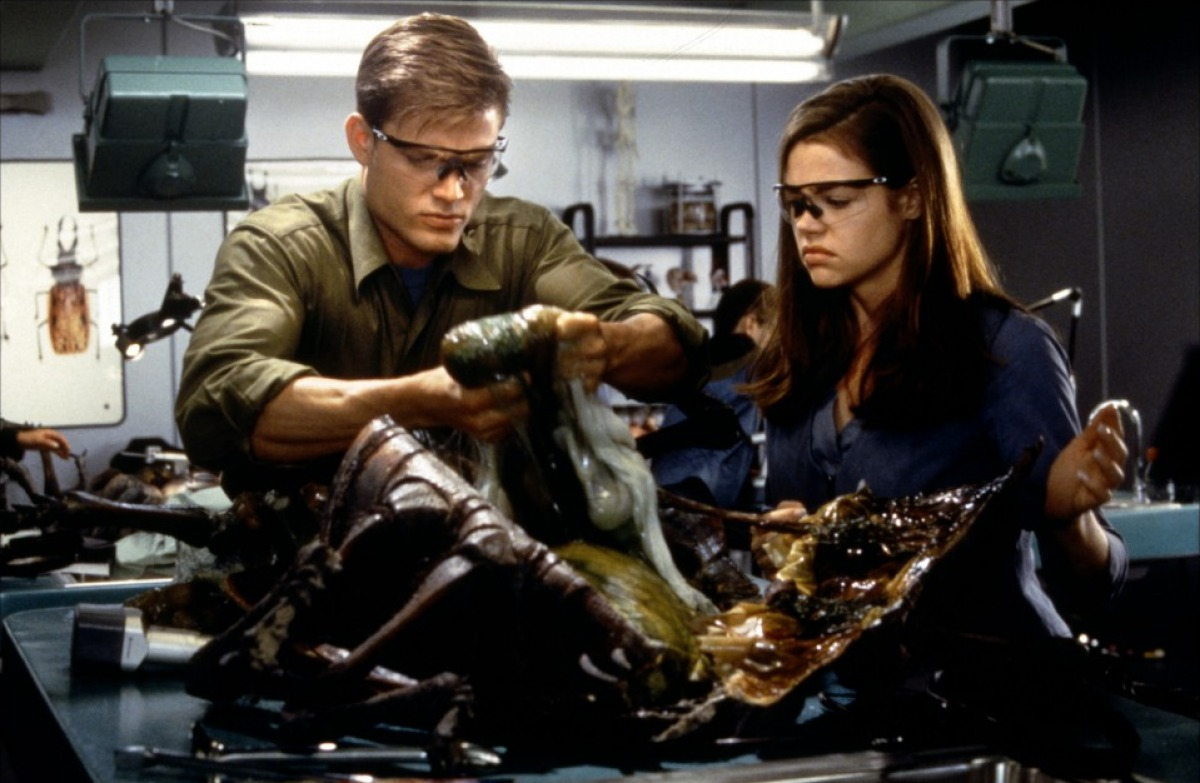 The dissection from Starship Troopers.