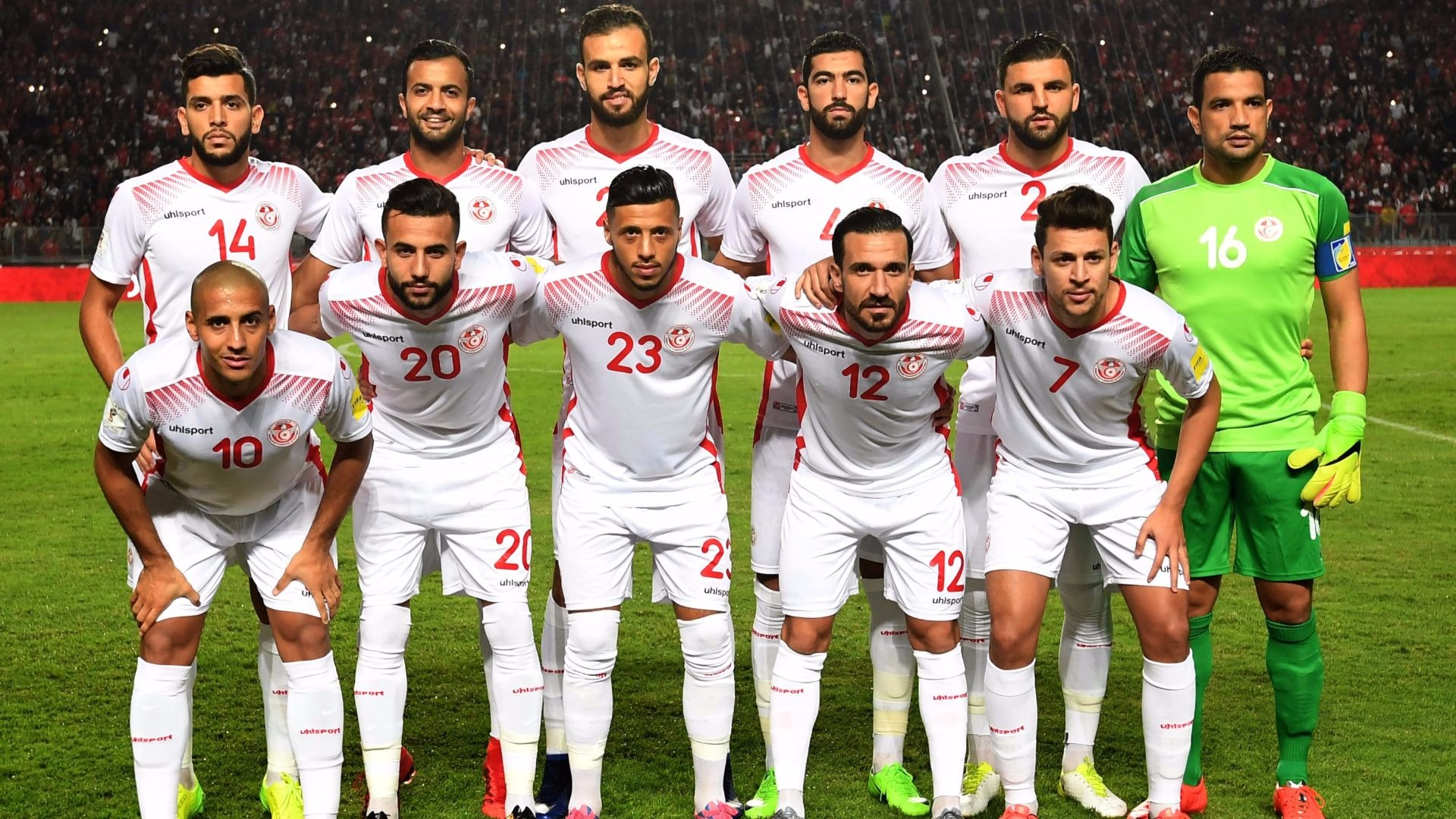 The Tunisia national football team.