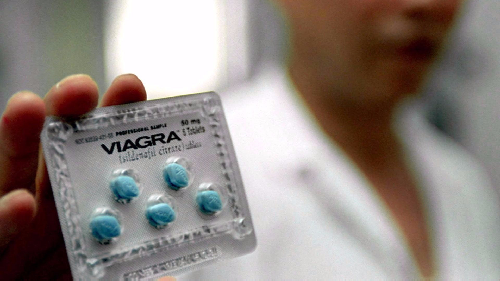 Viagra will be available over the counter from April.