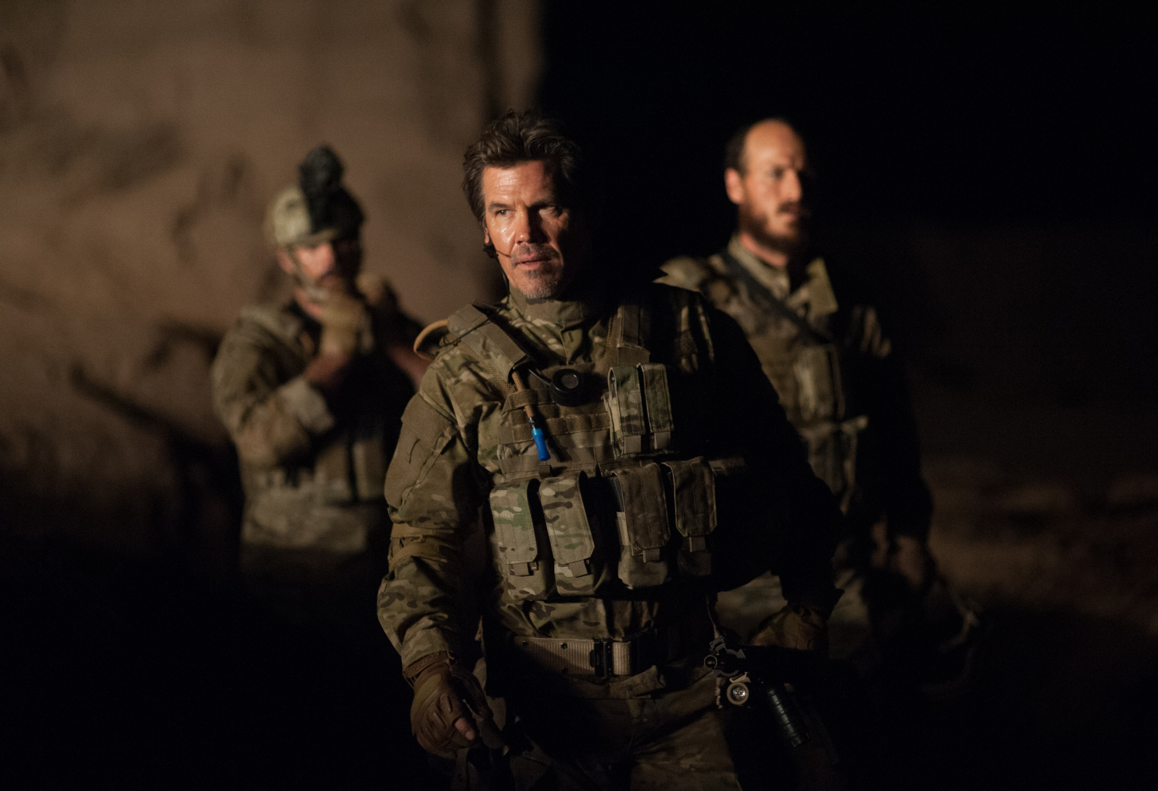 Josh Brolin in Sicario 2.