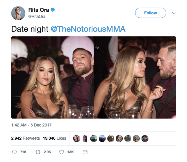 The Rita Ora tweet.