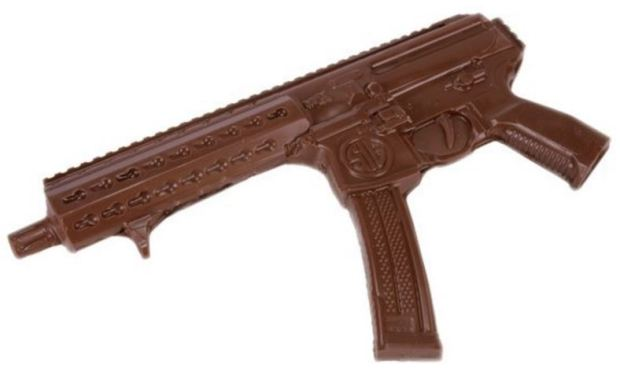 The chocolate gun