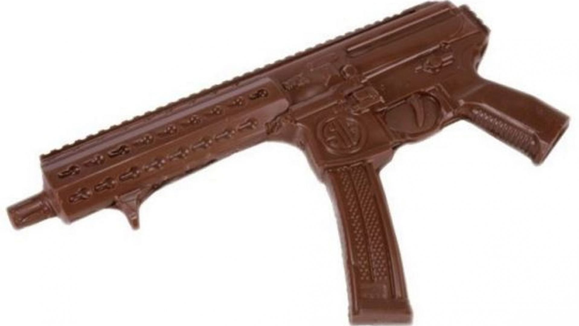 The chocolate machine gun.