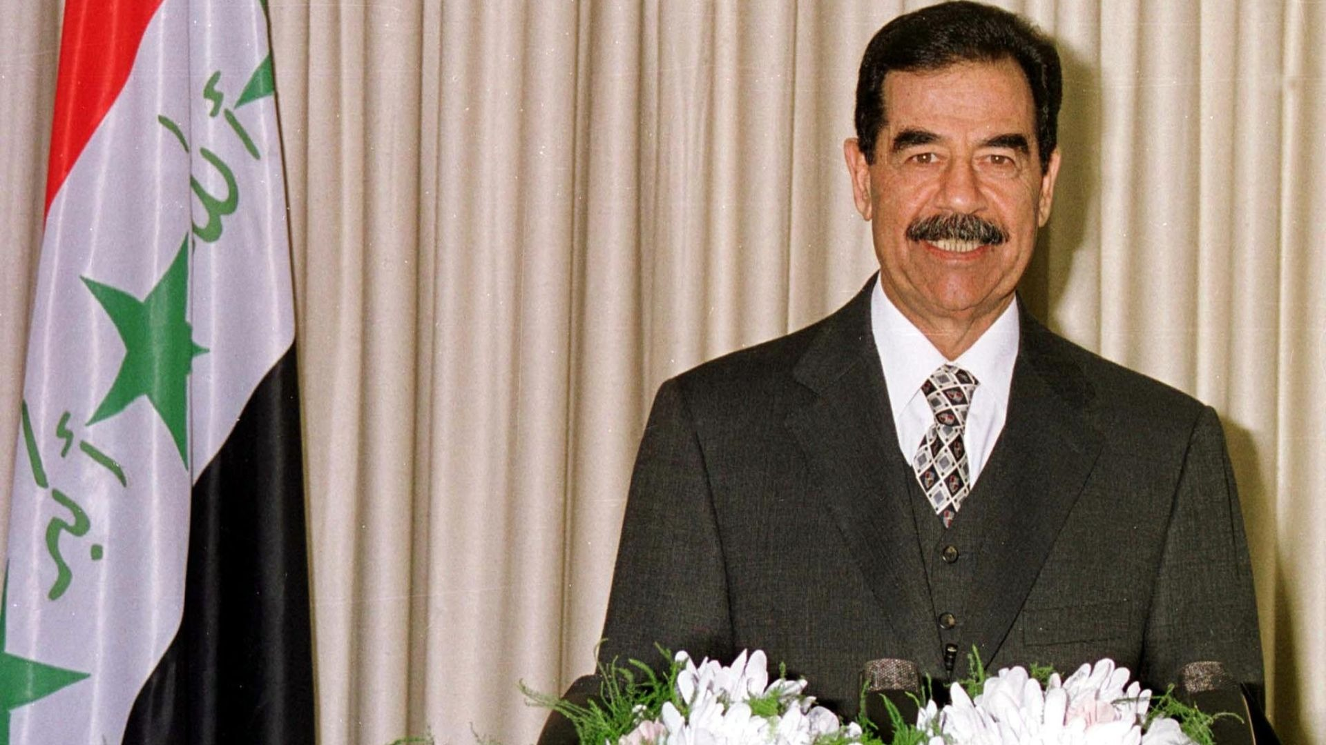 Deceased Iraqi leader Saddam Hussein.