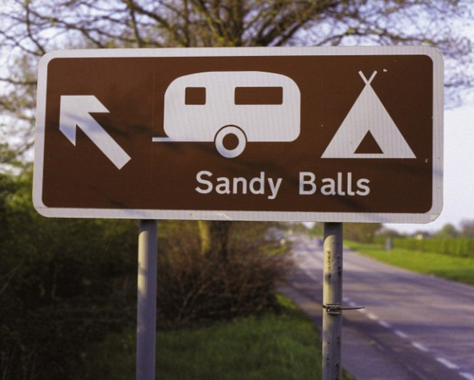 Sandy Balls in the New Forest.
