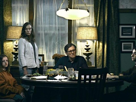 Hereditary starring Toni Collette and Gabriel Byrne.