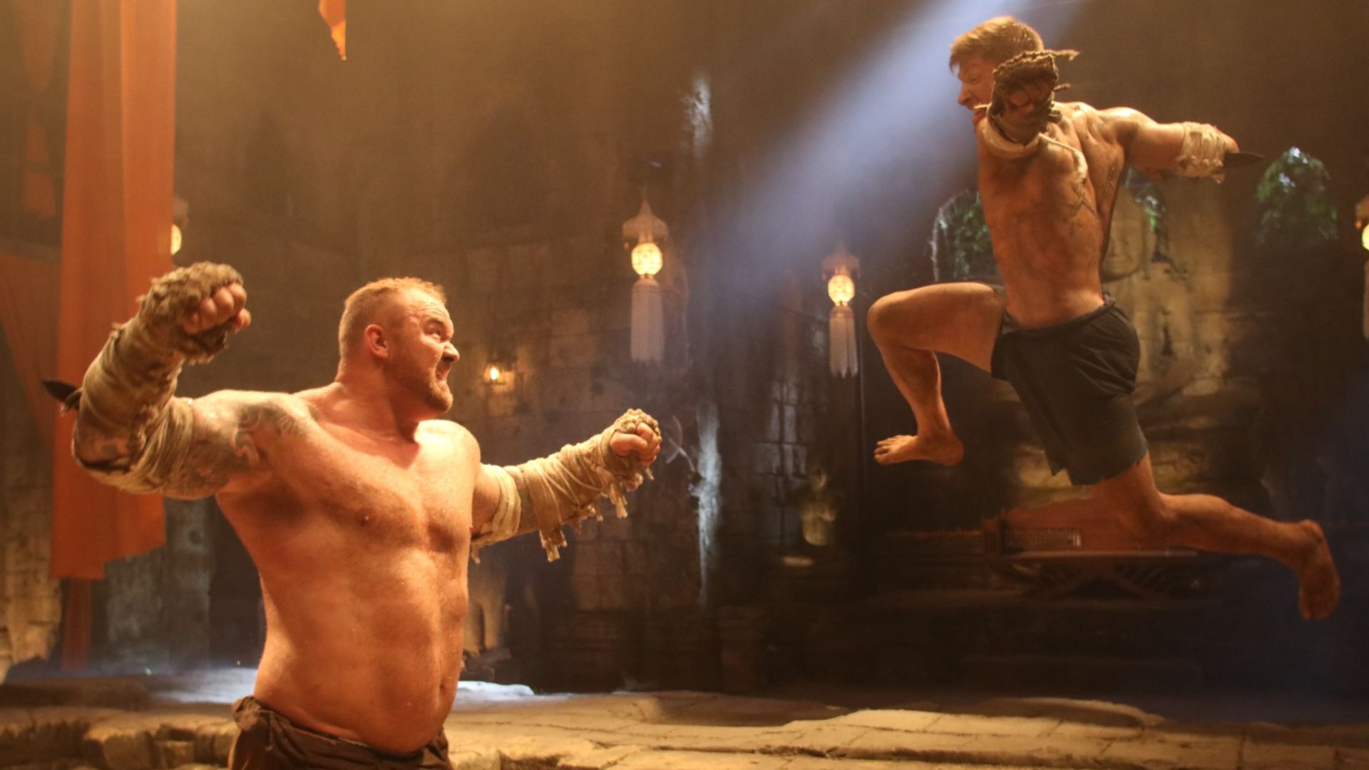 The Mountain in Kickboxer Retailiation.