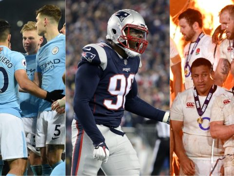 Manchester City, the New England Patriots and the England rugby union team.