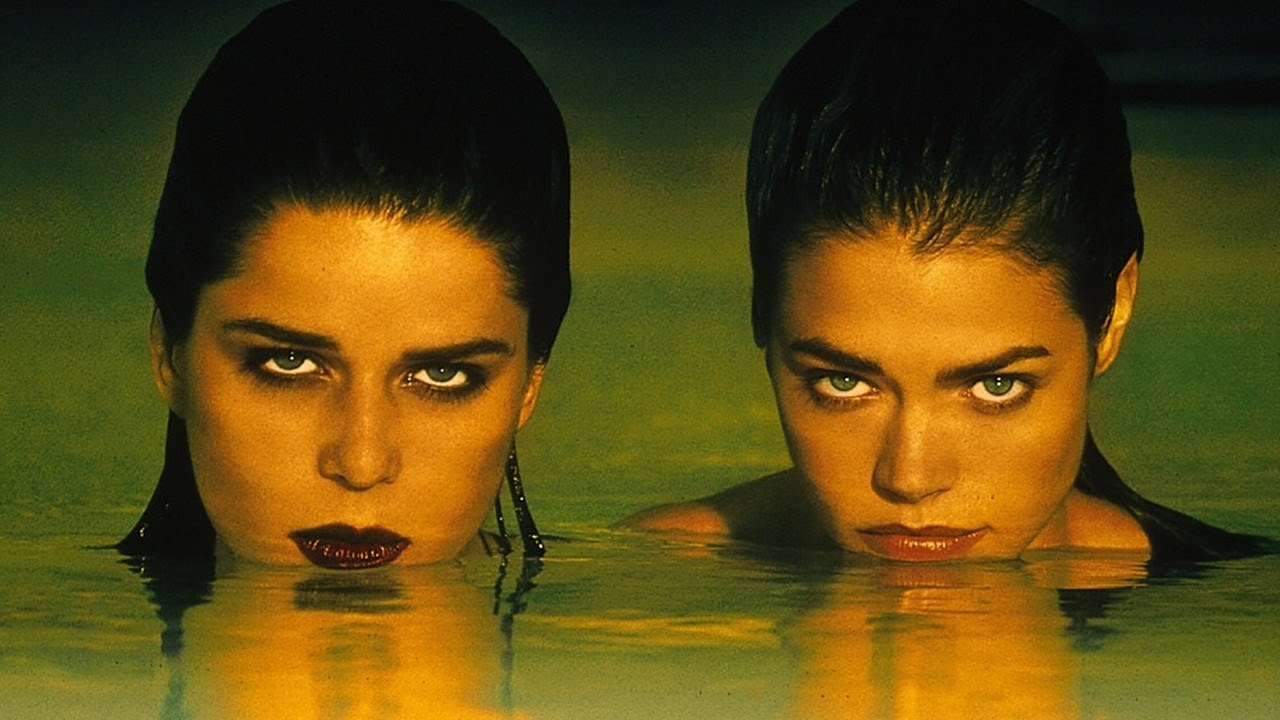 Denise Richards and Neve Campbell in Wild Things.