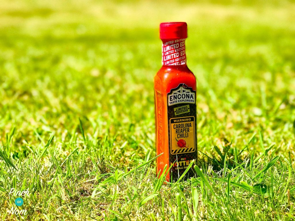The extra hot chilli sauce.