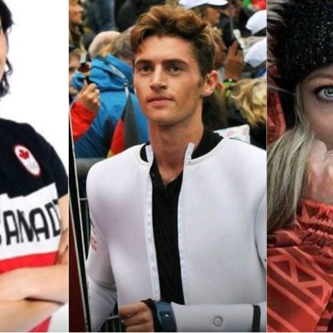 The Winter Olympics Tinder collage.