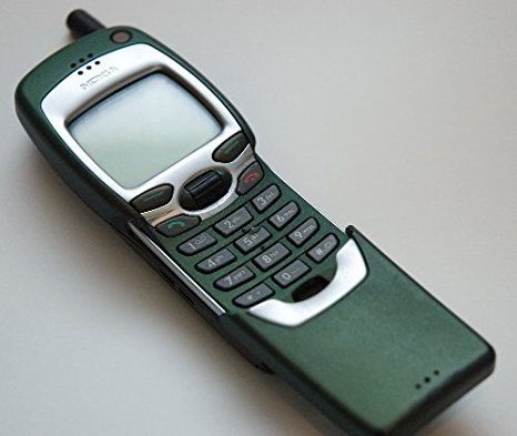 The Nokia phone from The Matrix.